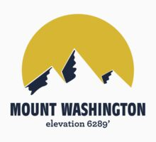 Mount Washington T-shirt by msbpackengineer