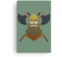 Hornless Viking Canvas Print