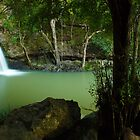 Kondalilla Falls, Montville, Queesland, Australia by Michael Boniwell