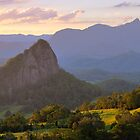 Doughboy Hill & Mt Warning, New South Wales, Australia by Michael Boniwell
