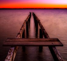 Jetty at Sunset by MikeAndrew