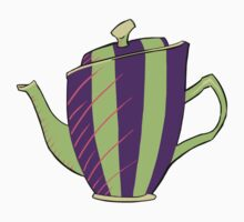 Green and Purple Teapot T-Shirt