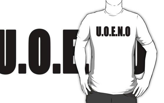 U.O.E.N.O Tee by Reese1694