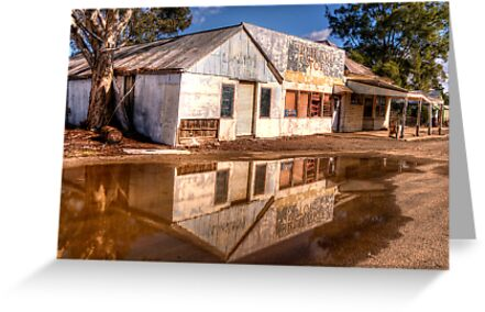 Down The Corner Shop -  Riverina Treasures #1 = The HDR Experience by Philip Johnson