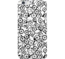 Pile of Black Bicycles iPhone Case/Skin