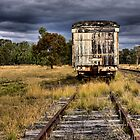 Abandoned Railway Carriage - Premer NSW Australia by Bev Woodman