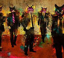 Cats in Suits by Ian Jones