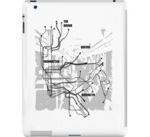 New York Subway iPad Case/Skin