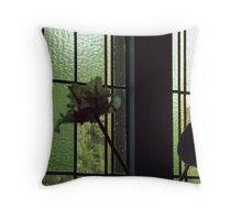 Flowers Inside and Outside! Throw Pillow