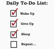 Today's To-Do List by David-Chan