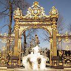 Frozen fountain in Stanislas Square by EmilFingal