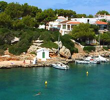 Cala En Blanes by Tom Gomez