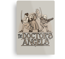 The Doctor's Angels Metal Print