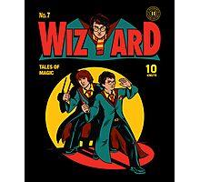 Wizard Comic Photographic Print