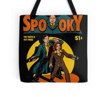 Spooky Comic Tote Bag