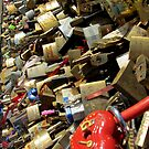 forever! - lovelocks at Paris by bubblehex08