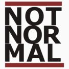Not Normal by Swenschi