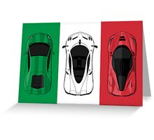 Tricolore Greeting Card