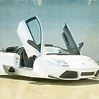 Lamborghini hover car by vinpez