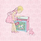 Carousel Rose by amalou
