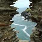 Window - Tintagel Castel, Cornwall  by rsangsterkelly