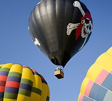 Three Balloons by jswolfphoto