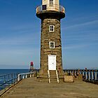 Disused East Pier Lighthouse, Whitby by Rod Johnson