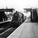 Dronfield Station by Baron John Guibal J P PhD Dip