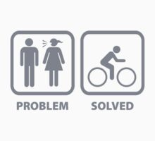 Problem Solved Cycling by BrightDesign