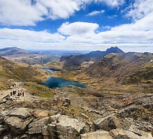 Summit of Snowdon by Nicholas Jermy
