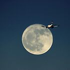 Boeing Moon  by larry flewers