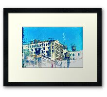 Upper West Side Water Towers Framed Print