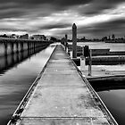 The old Port Adelaide Docks : Port Adelaide South Australia. by Nick Egglington