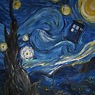 Starry Night in the TARDIS 2.0 by hawklawson