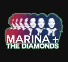 Marina and the Diamonds Gradient Shirt by chriskeegan