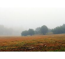 Once upon a misty morn.... Photographic Print