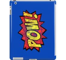 Pow! iPad Case/Skin