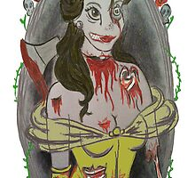 Zombie Belle by lissacorinne