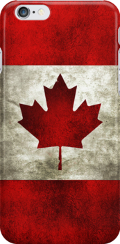【1000+ views】Canadian Flag iPhone Case by Ruo7in