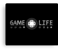 Game Life Canvas Print