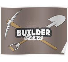 Builder For Hire Poster