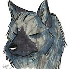 Brush Breeds-Norwegian Elkhound by Alexa H.J.