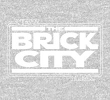 'Brick Wars' (wht) Kids Clothes