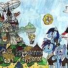 Steampunk ponies... by Pegasi Designs