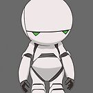 Marvin the Paranoid by dustyworkshop