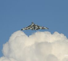 Vulcan at Waddington Airshow by Jonathan Cox