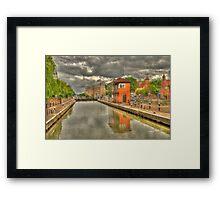 Newark Castle and Lock Framed Print