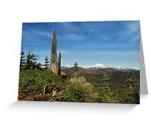 Mount Lassen From A Distance Greeting Card