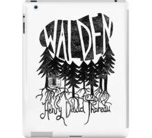 Walden (black) iPad Case/Skin