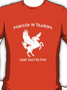 Demigod In Training T-Shirt